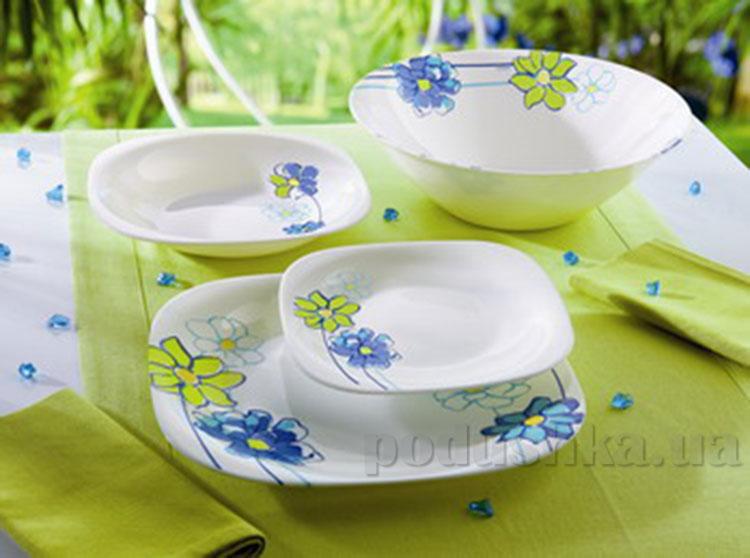 Столовый сервиз Luminarc Fresh Garden синий H8640 19 предметов