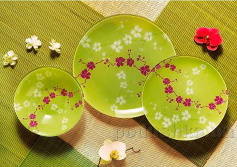 Столовый сервиз Luminarc Kashima Green G9953 19 предметов