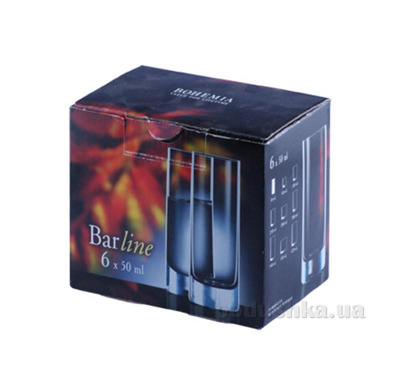 Стопки Barline GOLD 6шт Bohemia