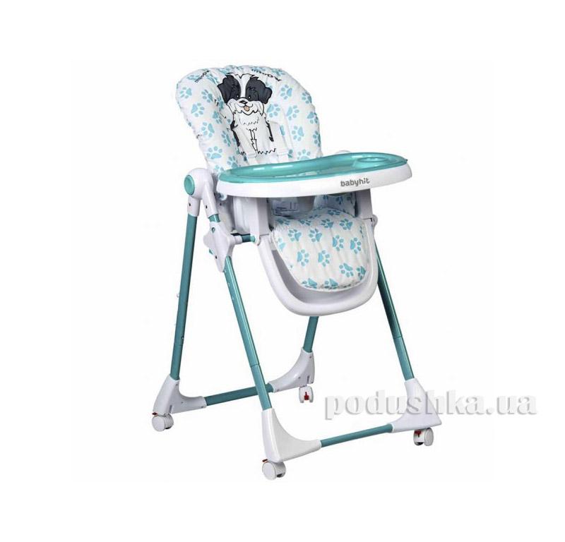 Стульчик для кормления BabyHit Juicy Turquoise