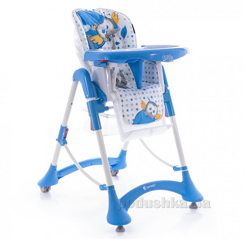 Стульчик для кормления Bertoni Elite Blue Baby Owl ut-91742