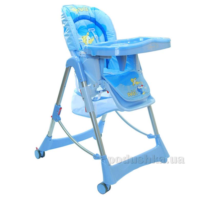 Стульчик для кормления Capella Piero Fabula Blue ut-26492