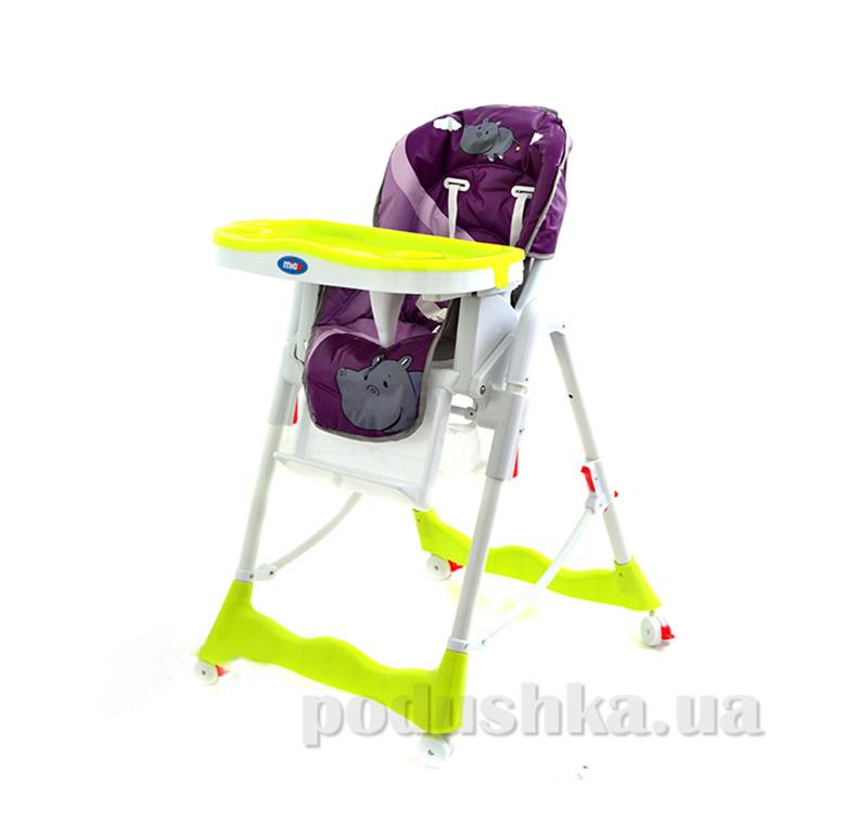 Стульчик для кормления Mioo HC50 Hippopotamus Purple