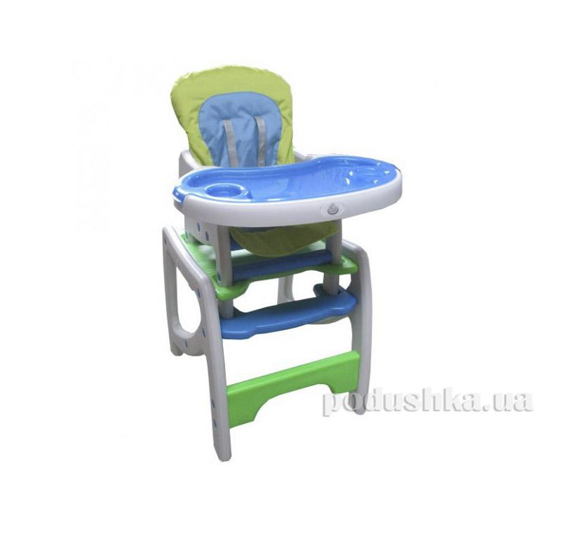 Стульчик для кормления Miracolo HC-30H MIX Blue-green