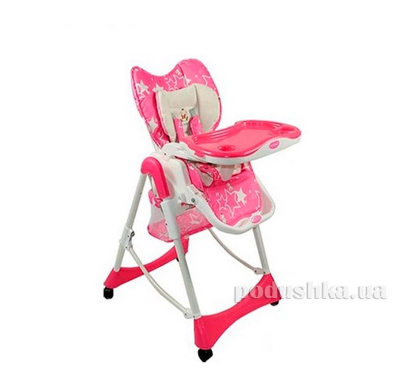 Стульчик для кормления Miracolo Pink 8716
