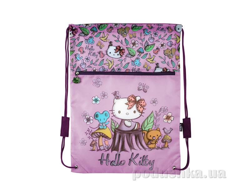Сумка для обуви с карманом Kite Hello Kitty 601-1