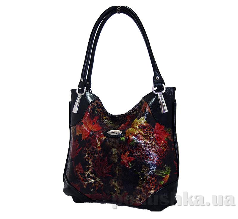 Сумка из натуральной кожи Artis Bags 692 черная