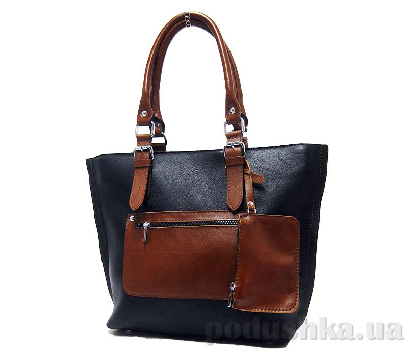 Сумка из натуральной кожи Artis Bags 744 черная