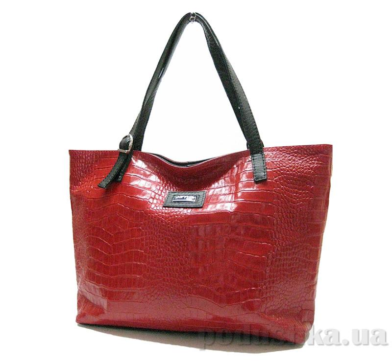 Сумка из натуральной кожи Artis Bags 769 красная