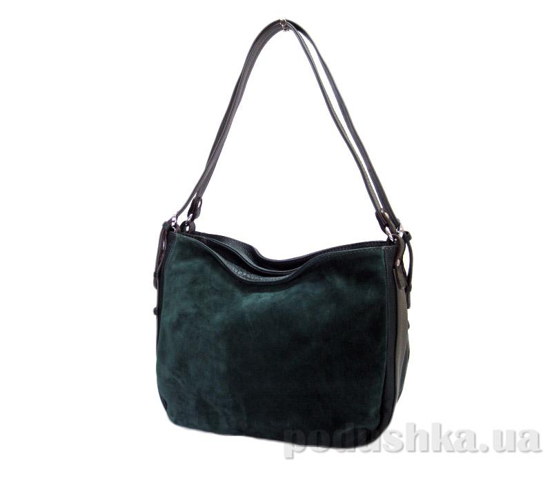 Сумка из натуральной кожи Artis Bags 794 темно-зеленая