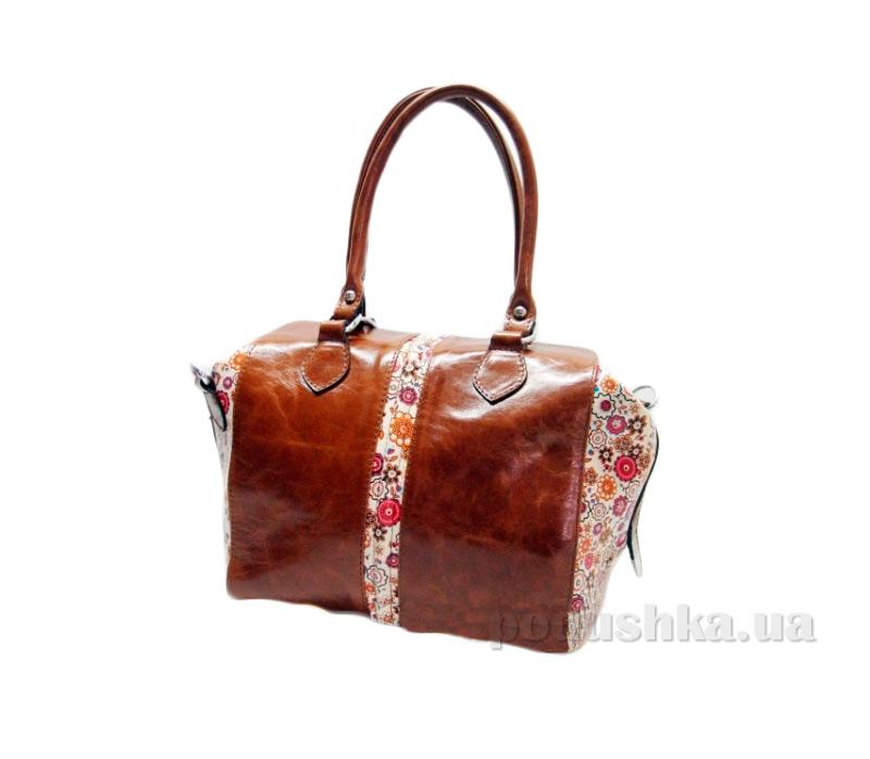 Сумка из натуральной кожи Artis Bags 848 коричневая