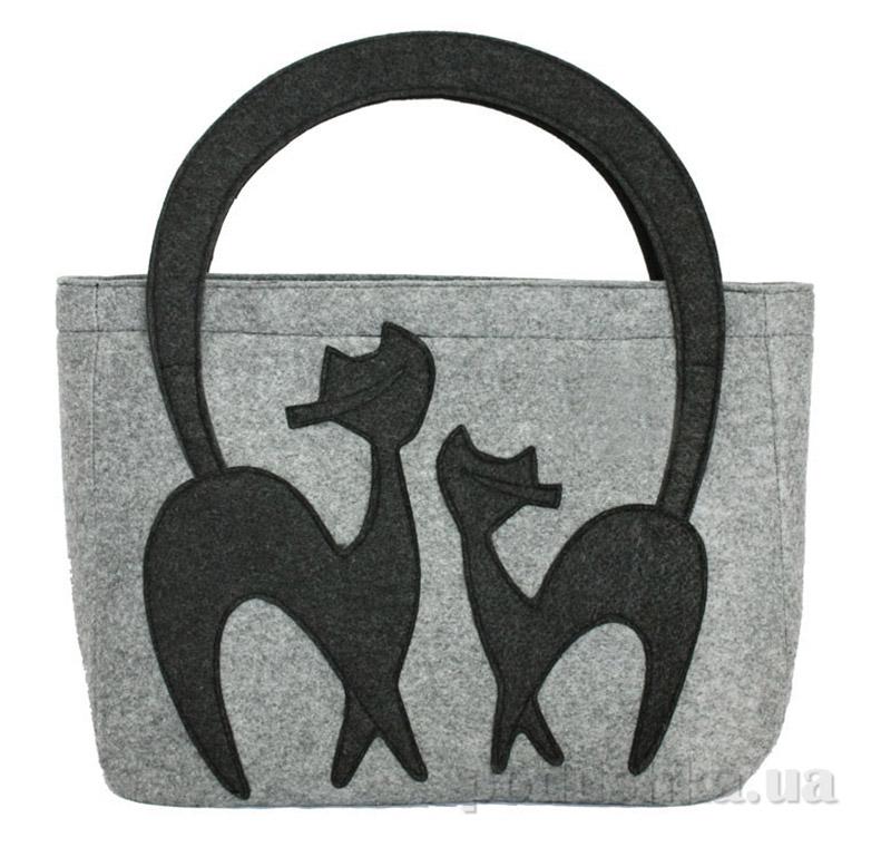 f2f9b3b841d1 Сумка из войлока Valex EL237-585GRY купить в Киеве, женские сумки по ...