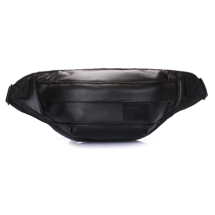Сумка на пояс Poolparty Bumbag Pu black