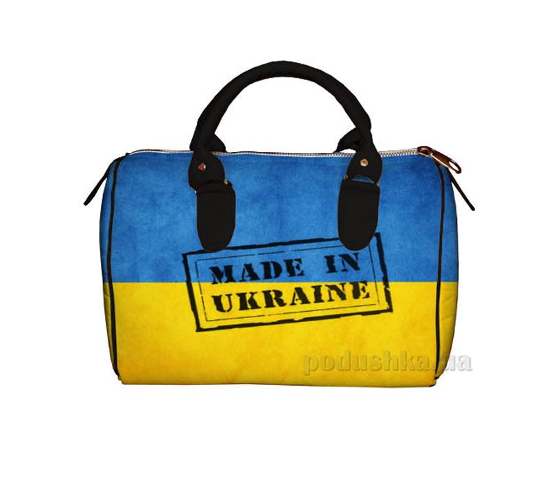 Сумка-бочонок Город Подарков 30471 SB_UKR016_BL