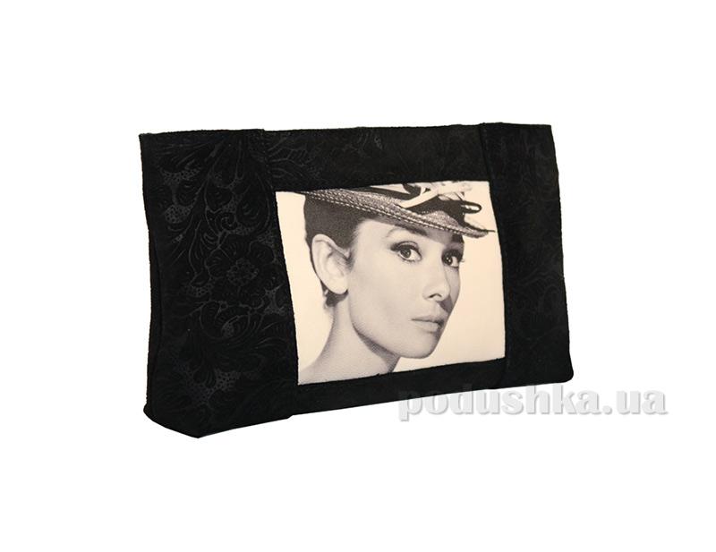 Сумка-клатч из эко-кожи Betty Pretty Одри Хепберн KL23-VISON BL-OD7