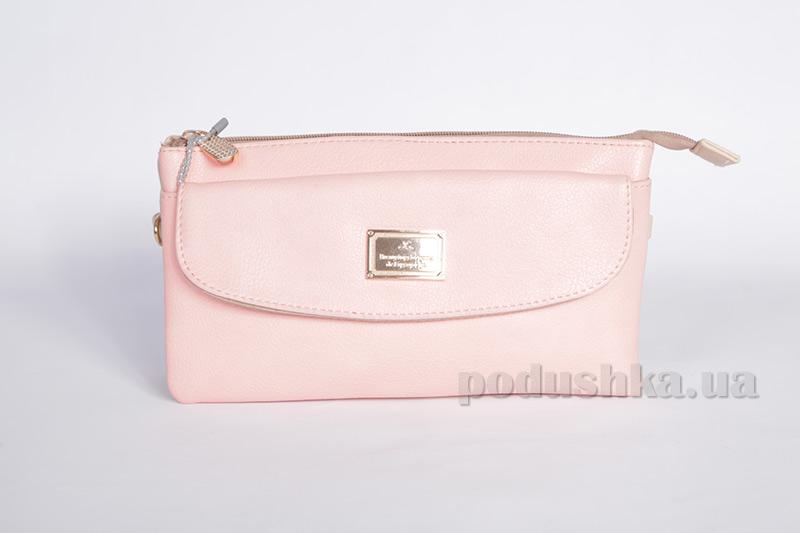 Сумка-клатч La Levata Z 8329 бежево-розовая