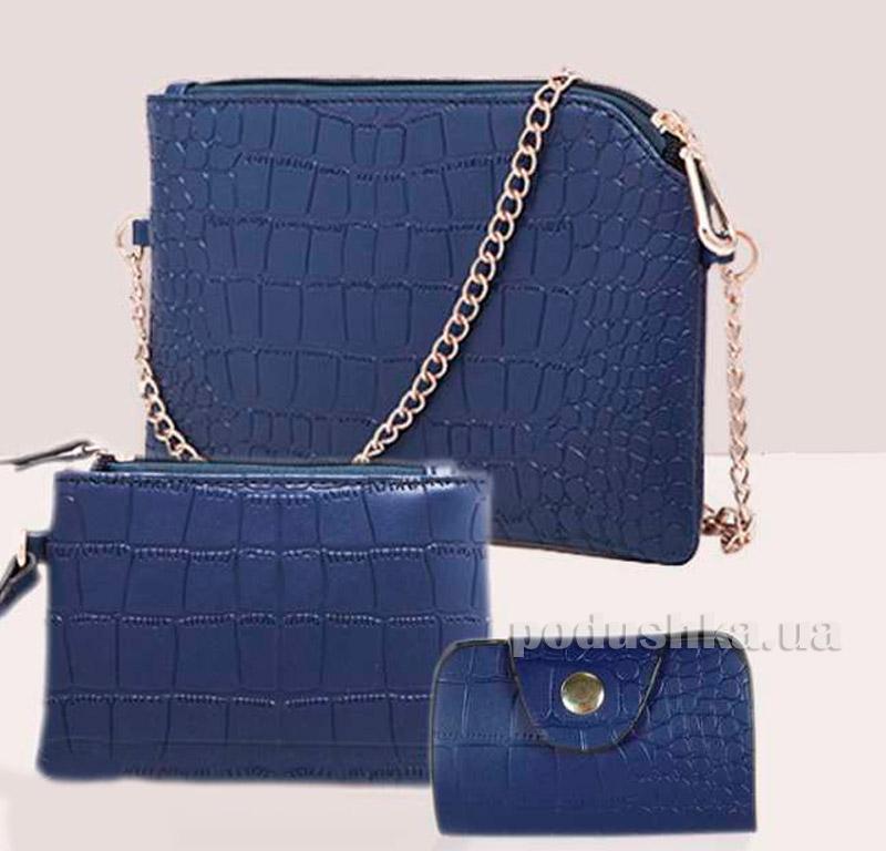 Сумка-комплект синяя Traum Украина 7227-01