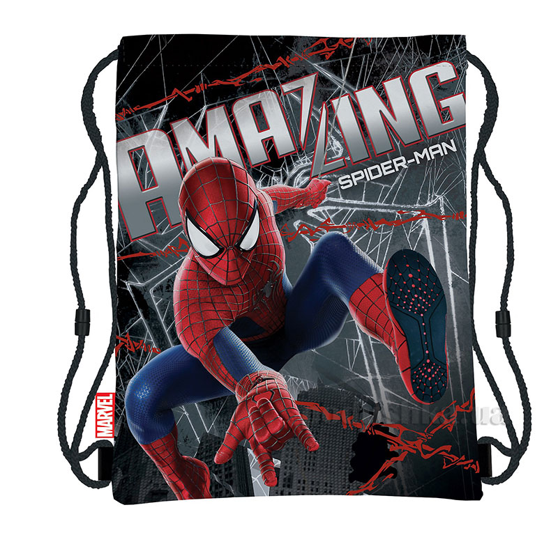 Сумка-рюкзак для обуви Spider-man SMBB-UT1-883 Kinderline