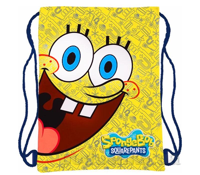 Сумка-рюкзак для обуви Sponge Bob