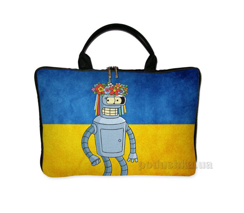 Сумка-саквояж для ноутбука Город Подарков 31372 SW_UKR030