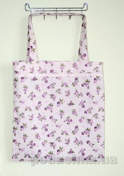 Сумка-торба Прованс Lilac rose