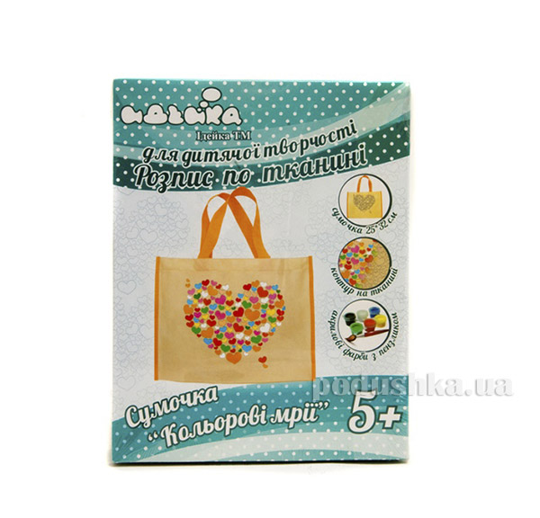 Сумочка Цветные мечты Идейка 06096203