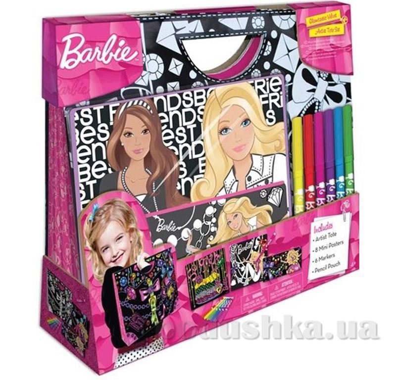 Сумочка-набор Бархатное творчество Серия Барби Fashion Angels 22322