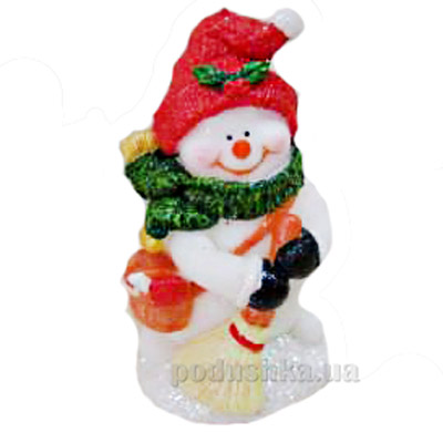 Свеча Снеговик Девилон 791002