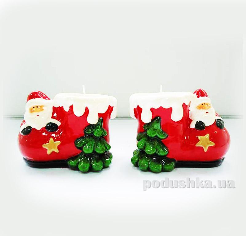 Дед Мороз и сапожок со свечей Девилон 440849