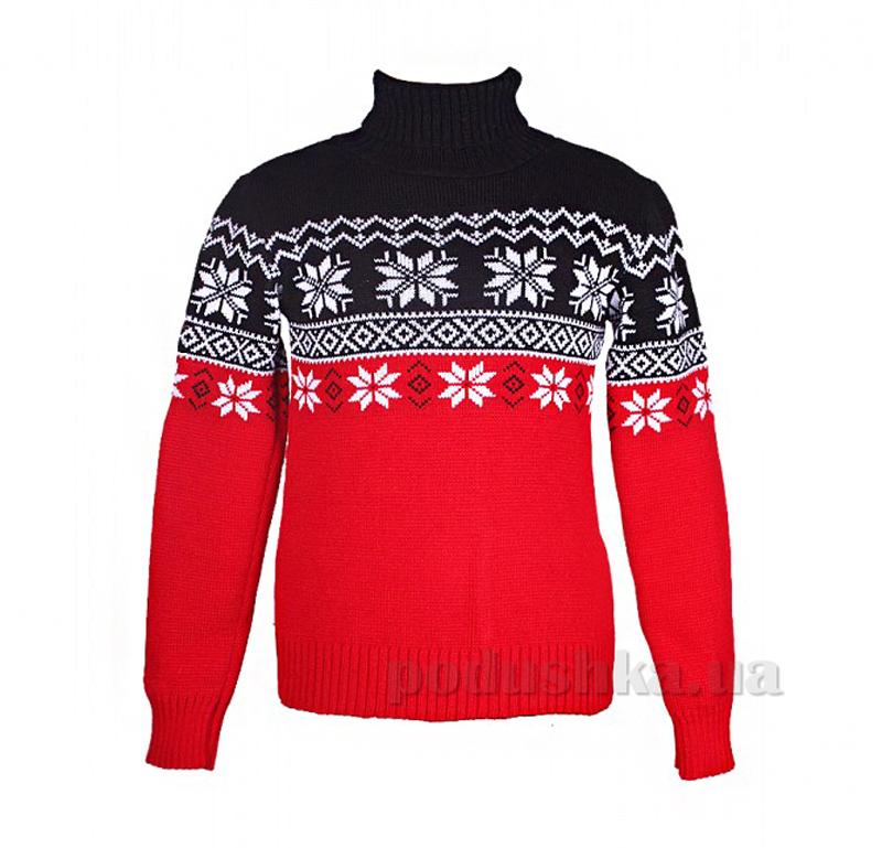 Свитер Рождество Tashkan 689 черный с красным