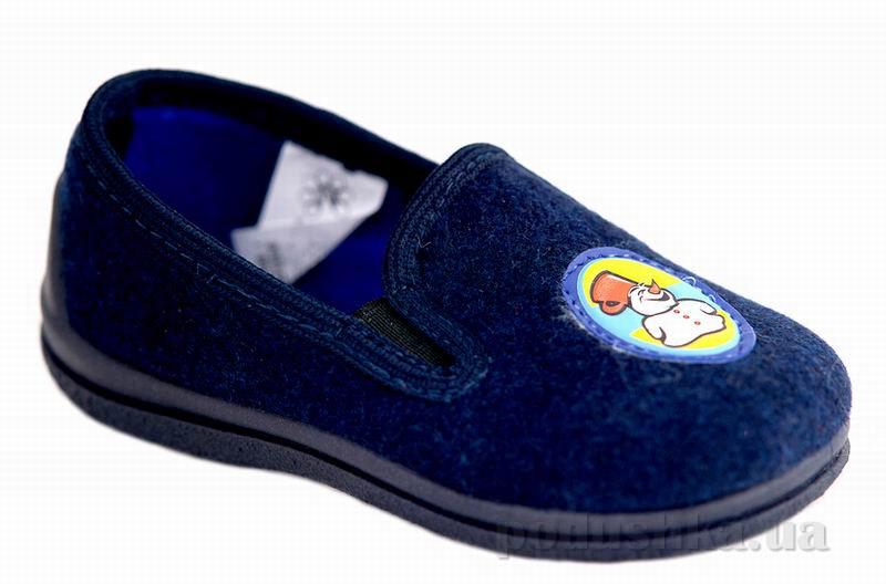 Тапочки Floare Малыш синие