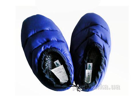 Тапочки пуховые Hammerfest синий