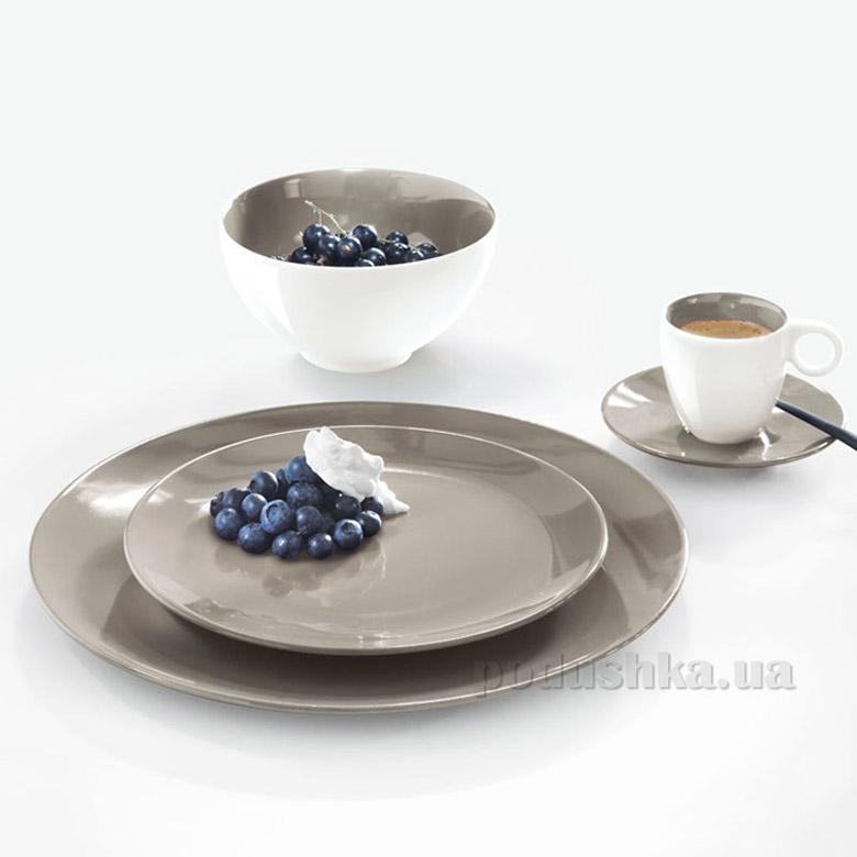 Тарелка десертная Color It Asa Selection серая