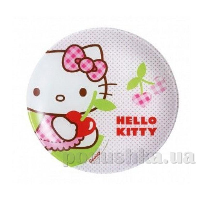 Тарелка десертная Luminarc Hello Kitty cherries J0023