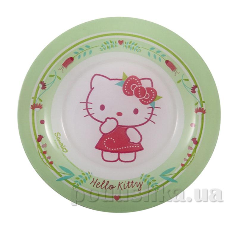 Тарелка десертная Luminarc Hello Kitty nordic flower J0036