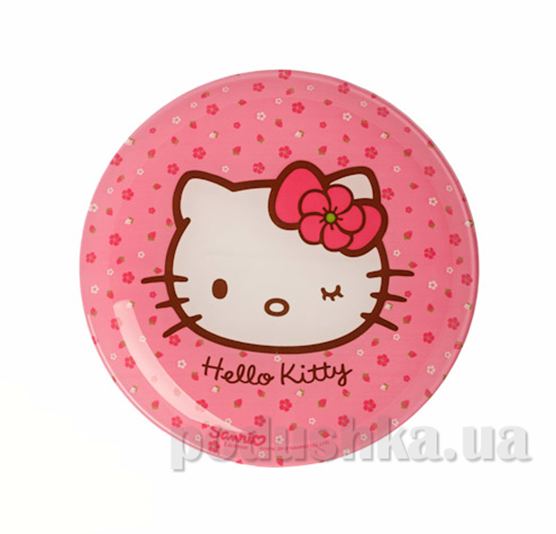 Тарелка десертная Luminarc Hello Kitty Sweet Pink H5479