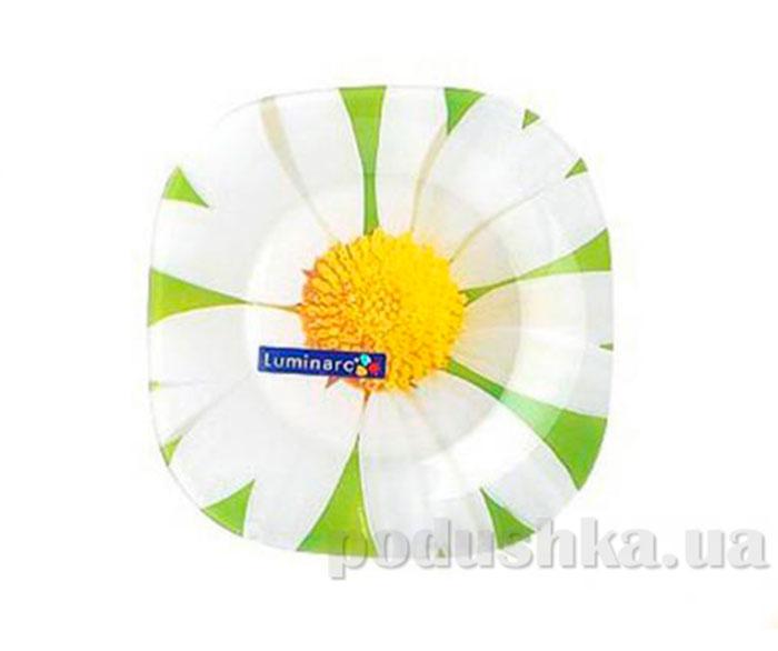 Тарелка для десерта Luminarc Aime Carina Paquerette Green G0090