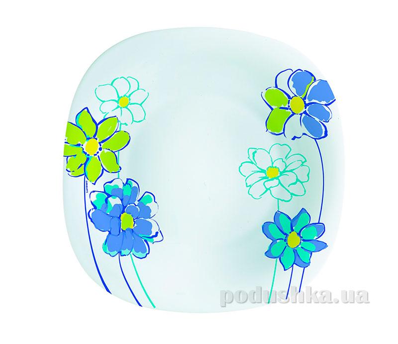Тарелка для десерта Luminarc Fresh Garden синяя H8637