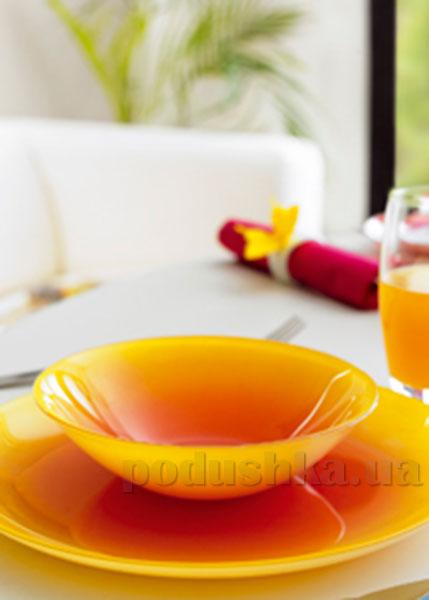 Тарелка для супа Luminarc Fizz Lemon G9555