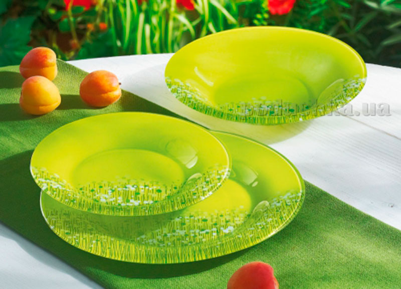 Тарелка для супа Luminarc Flowerfield Anis H2493
