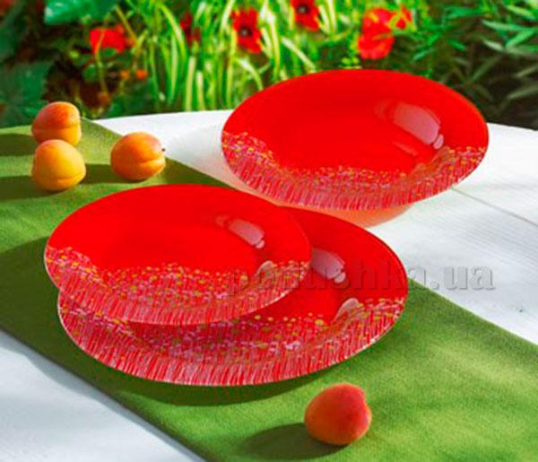 Тарелка для супа Luminarc Flowerfield Red H2484