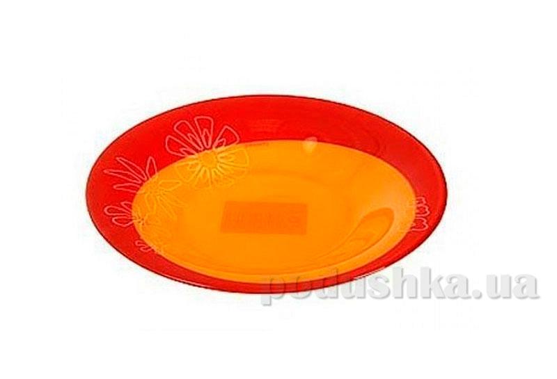 Тарелка для супа Luminarc Graphic Flowers Red C5542