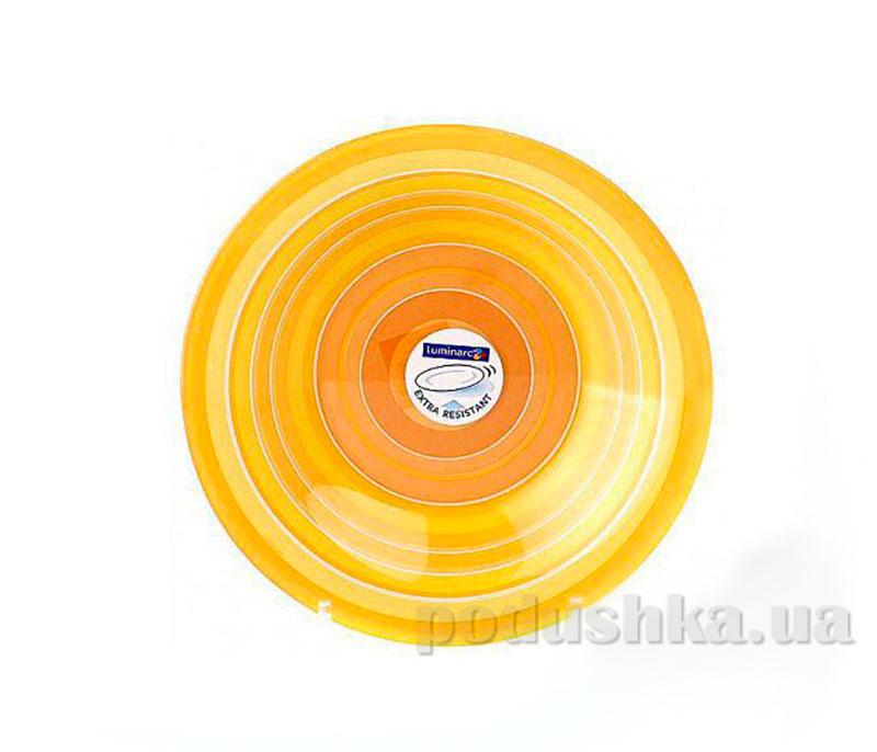 Тарелка для супа Luminarc Rainbow Orange G4444