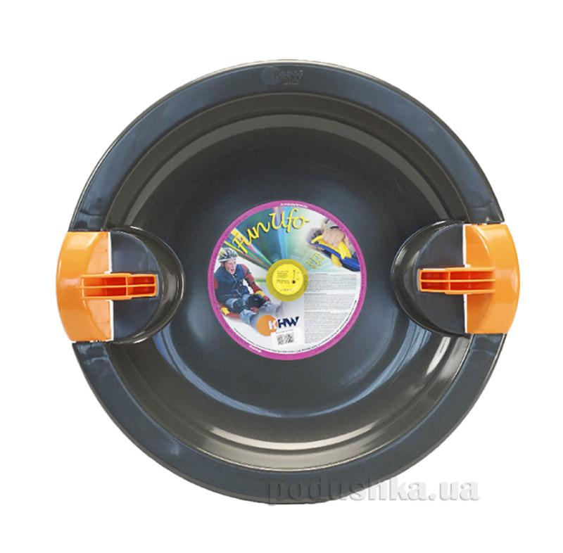 Тарелка Fun Ufo KHW Kunststoff 76224 черная