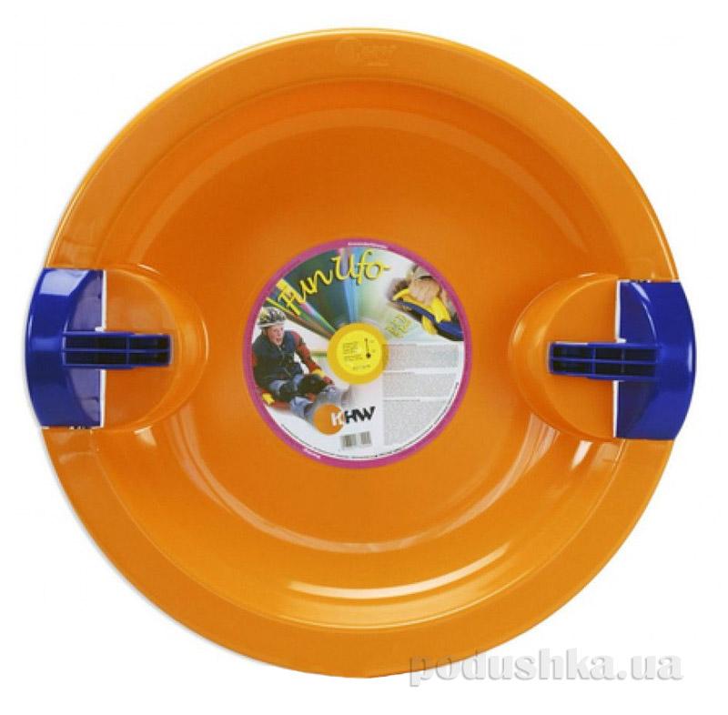 Тарелка Fun Ufo KHW Kunststoff 76225 оранжевая