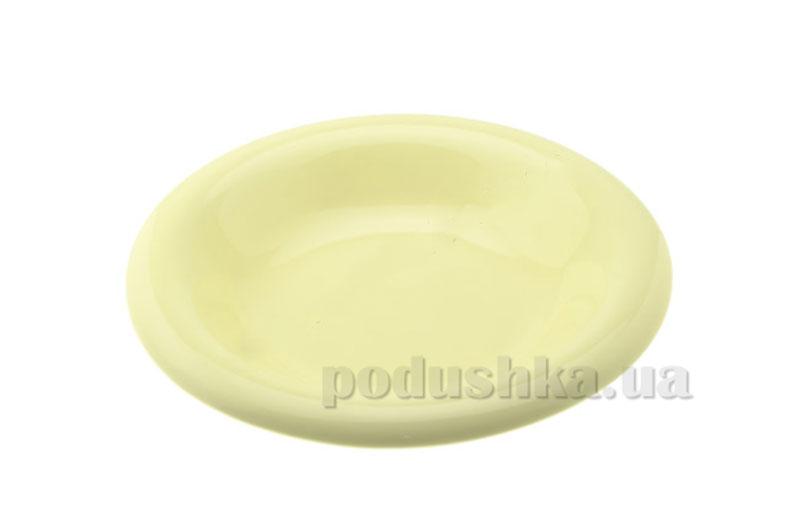 Тарелка глубокая Anka 22 см Light Yellow   KERAMIKA