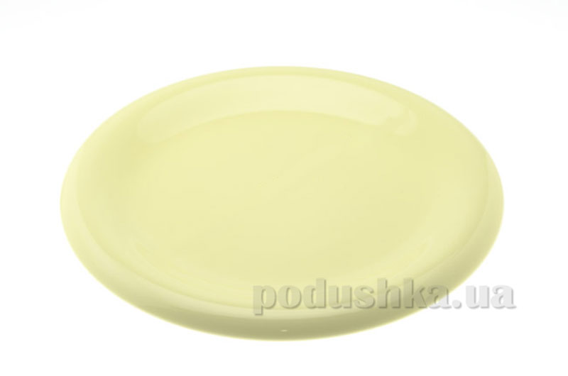 Тарелка мелкая Anka 26 см Light Yellow   KERAMIKA