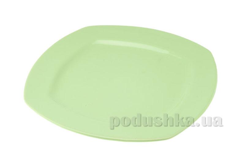 Тарелка мелкая Yeditepe 27 см Nile Green   KERAMIKA