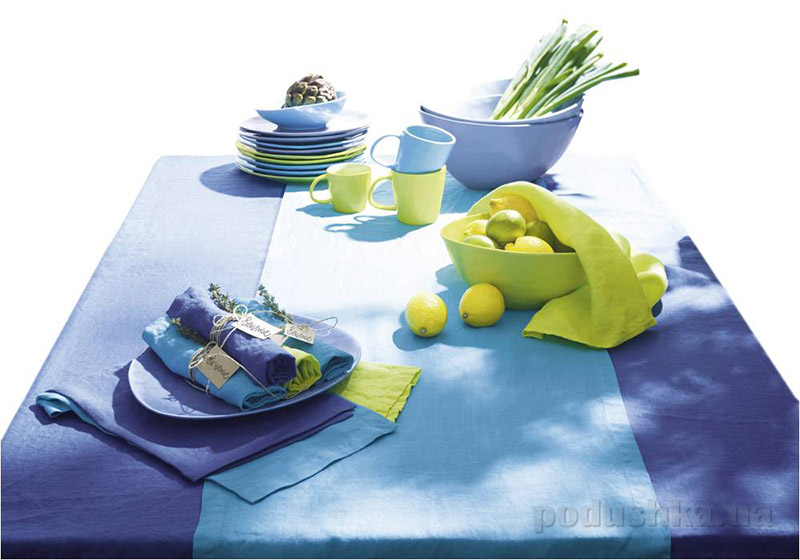 Тарелка обеденная a La Plage Asa Selection синяя