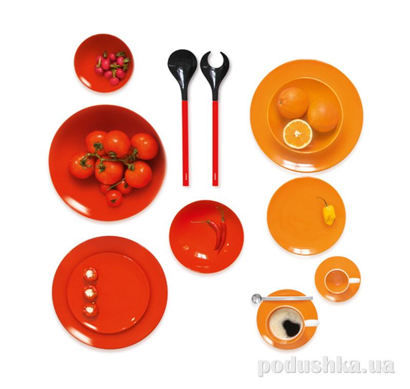 Тарелка обеденная Color It Asa Selection красная